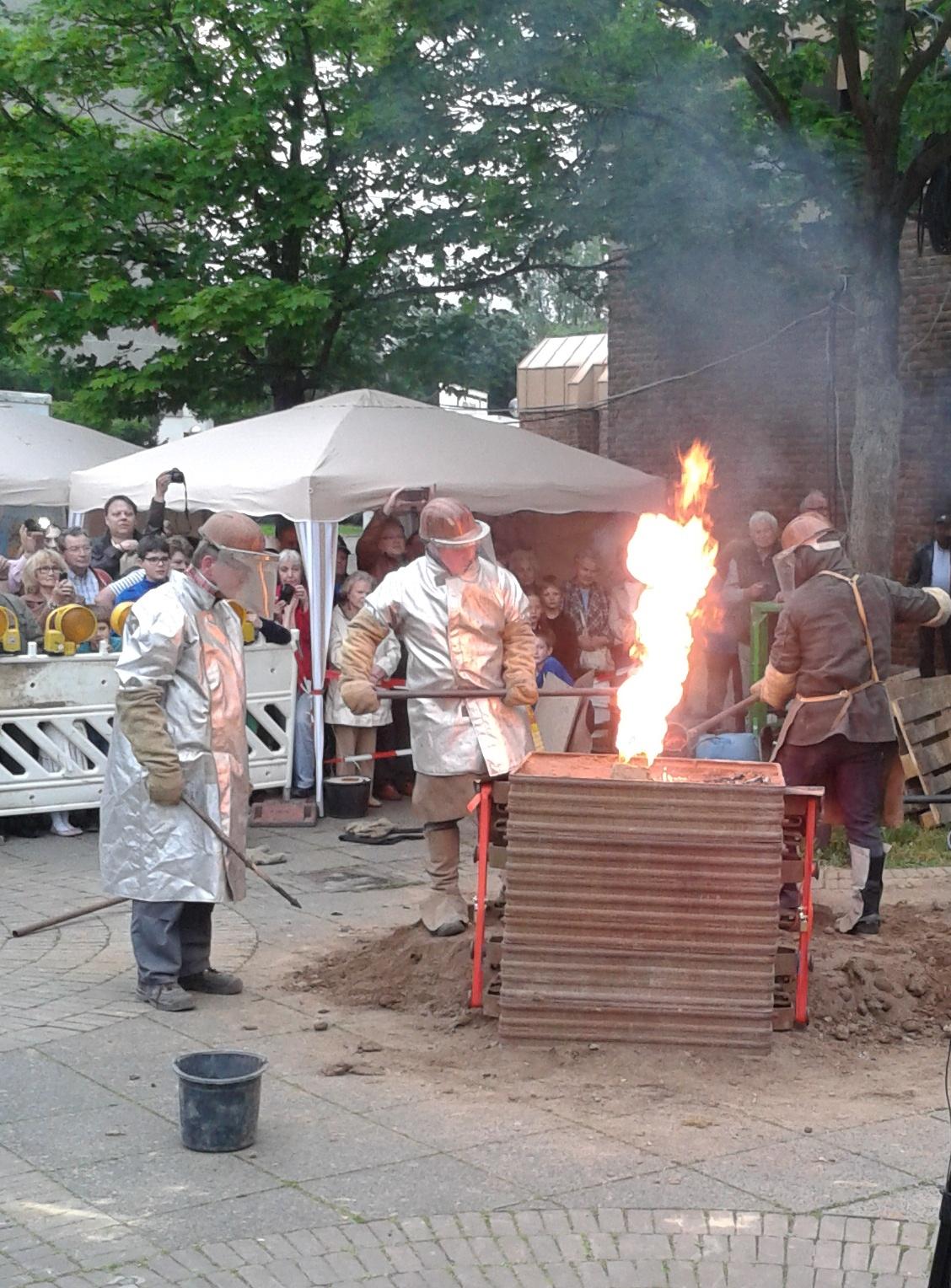 Friedensfest-Chorweiler Glockenguss