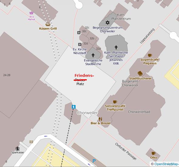 Umbenennung Pariser-Platz