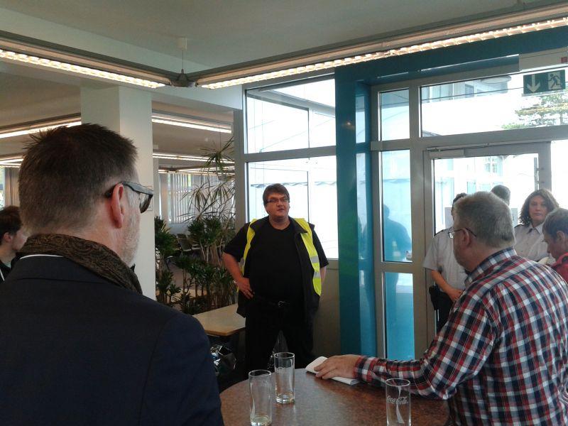 Die Radtour hat  Bezirksbürgermeister Zöllner organisiert