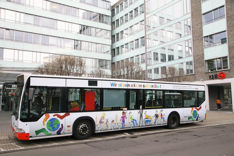 FahrzeugbegleiterInnen gestalteten einen Bus