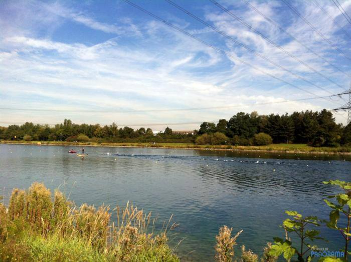 Fühlinger See, WM-Regattabahn