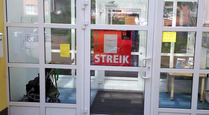 Der Kita-Streik in Köln geht in die vierte Woche.