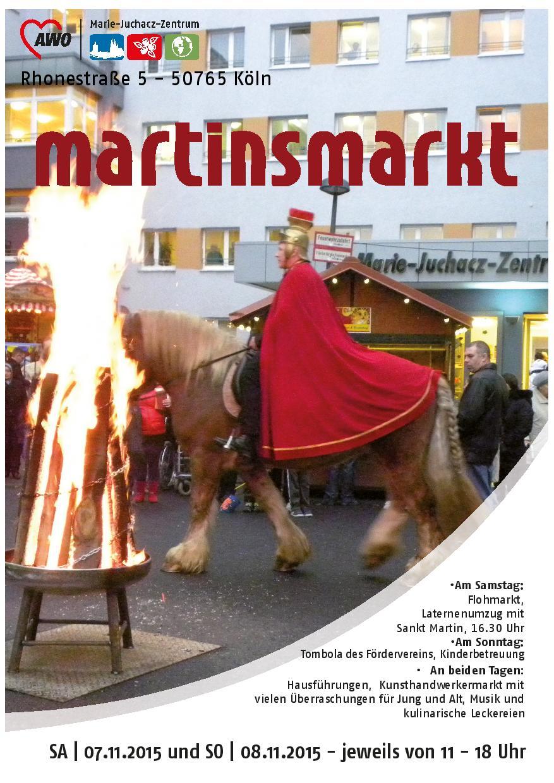 MJZ Martinsmarkt Plakat 2015