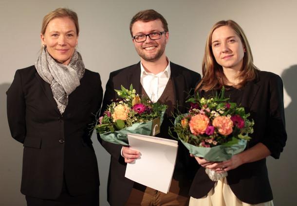 """Kathrin Möller (GAG) lobte den Entwurf von Annegret Stöcker und Daniel Stöcker-Fischer (Querfeld eins) als """"überzeugenden Entwurf"""""""