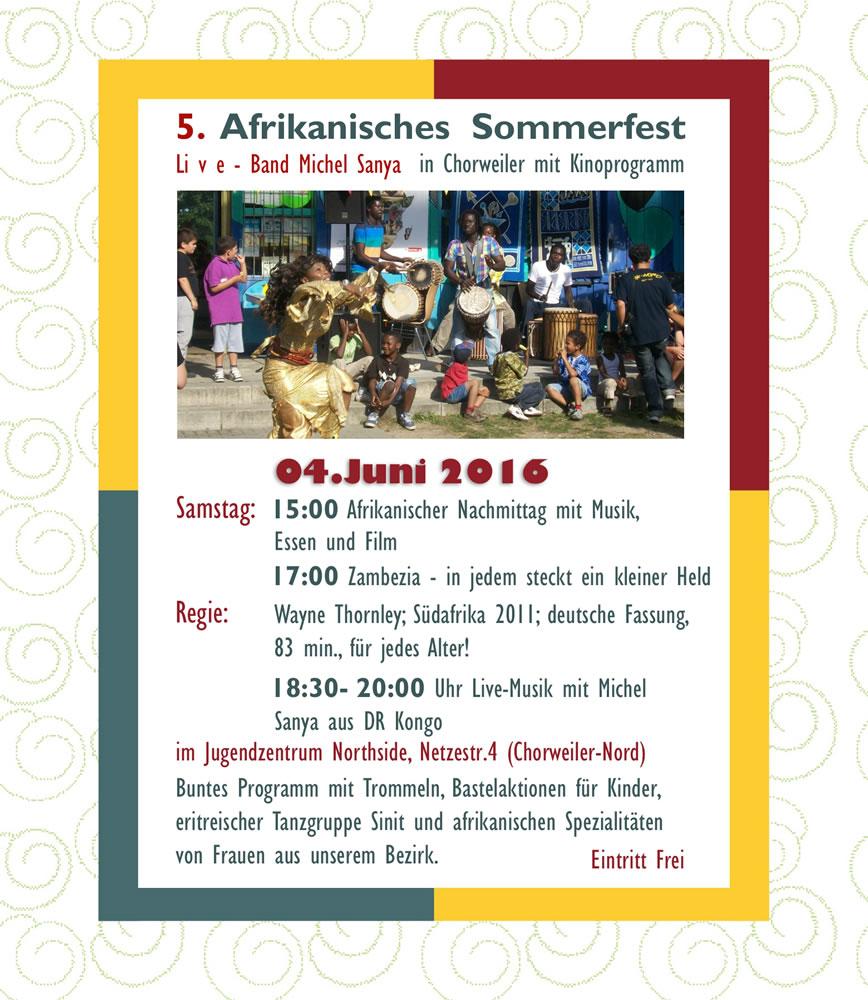 Afrikafest 2016