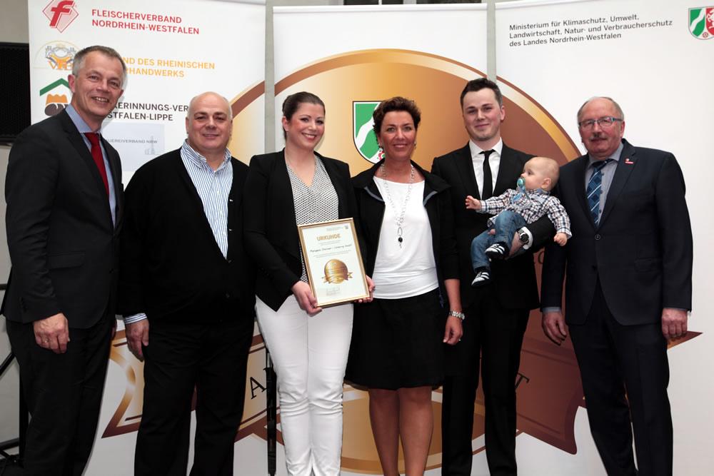 Auszeichnung Meister.Werk.NRW - Nähe * Verantwortung * Qualität - Das Lebensmittelhandwerk 2016