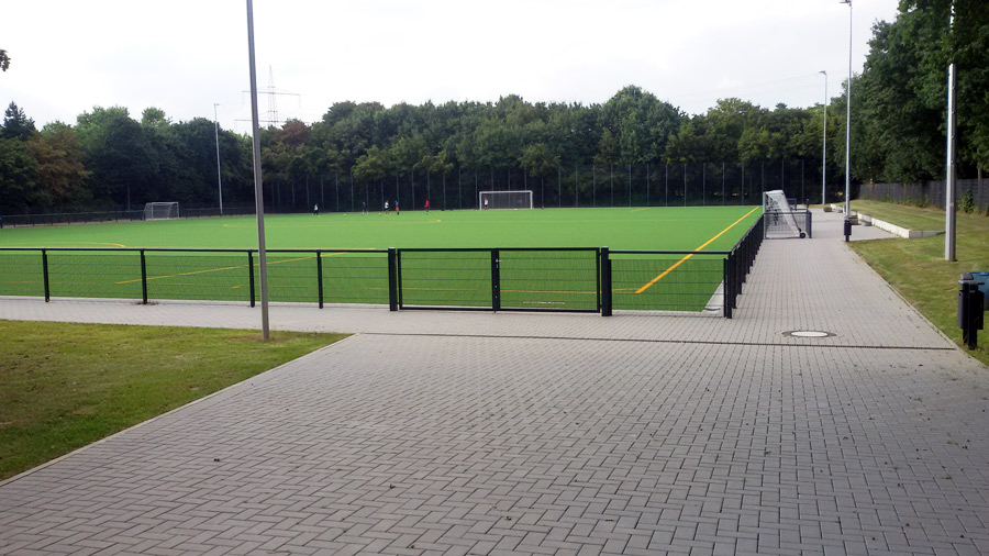 Fussballplatz der Bezirkssportanlage Chorweiler