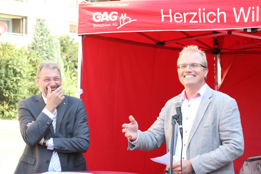 Uwe Eichner und Jochen Ott, GAG AG