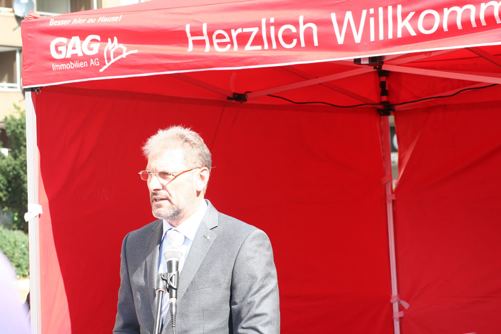 Uwe Eichner, Vorstandsvorsitzender der GAG