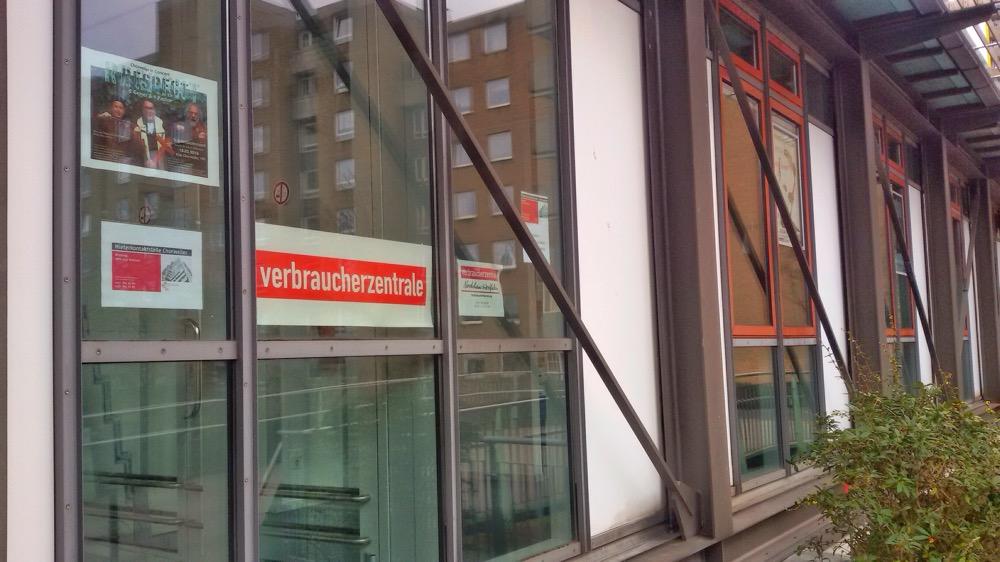 Sitz der Verbraucherzentrale in Chorweiler