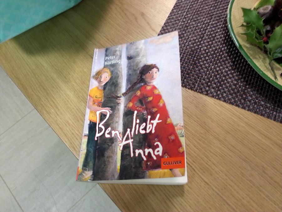 """Das Buch """"Ben liebt Anna"""", Autor: Peter Härtling"""