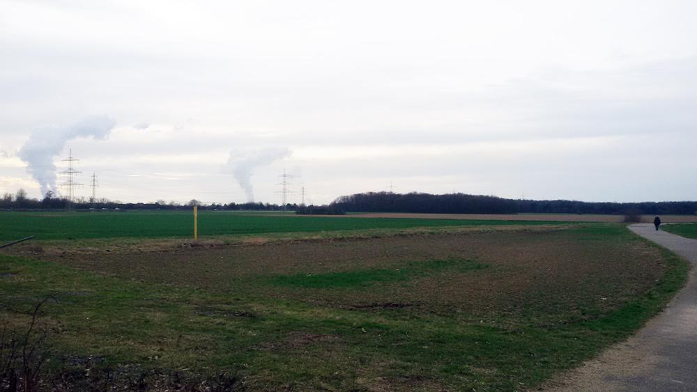 Es geht um dieses Grundstück an der Grenze Lindweiler/Volkhofen/Weiler