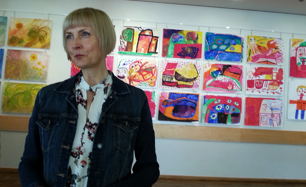 Ewa Salwinski, Leiterin des Projektes