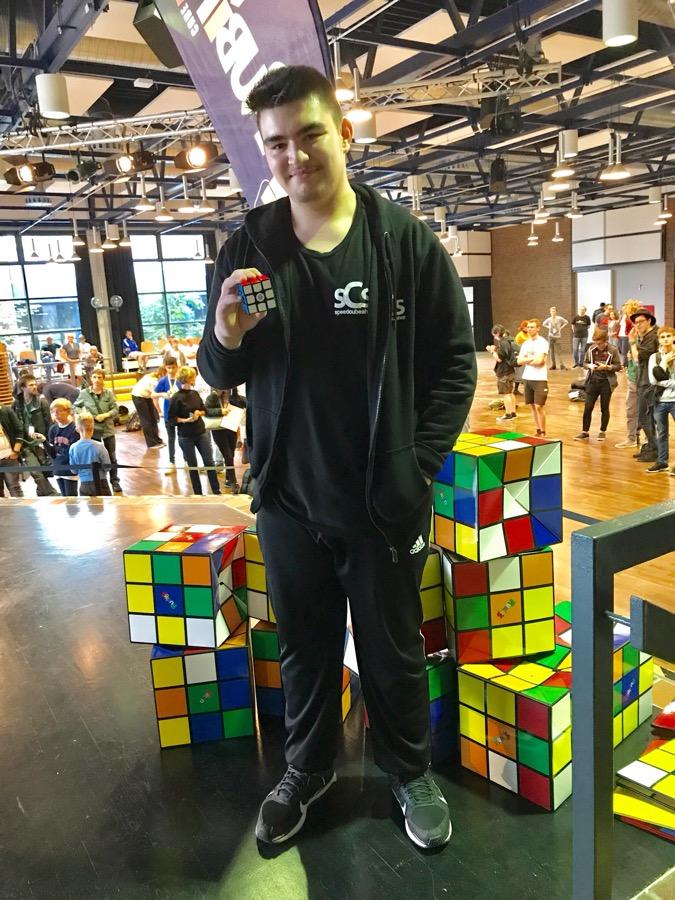 Kevin Gerhard stellte in Chorweiler neuen deutschen Rekord auf