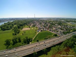 Leverkusener Brücke, Merkenich