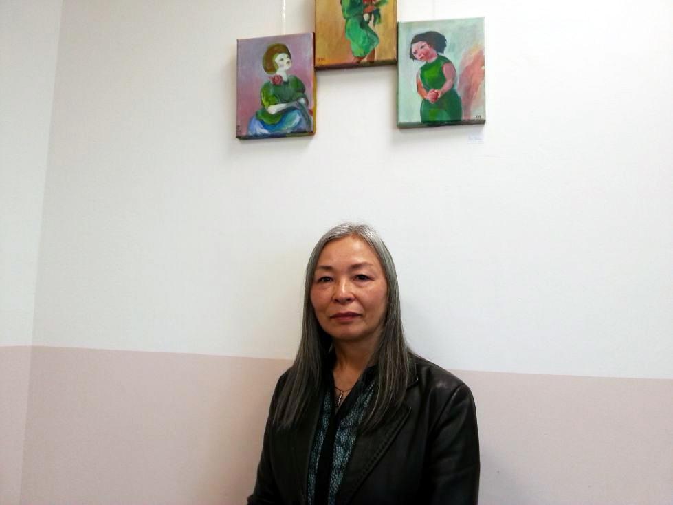 Künstlerin Junko Maeda