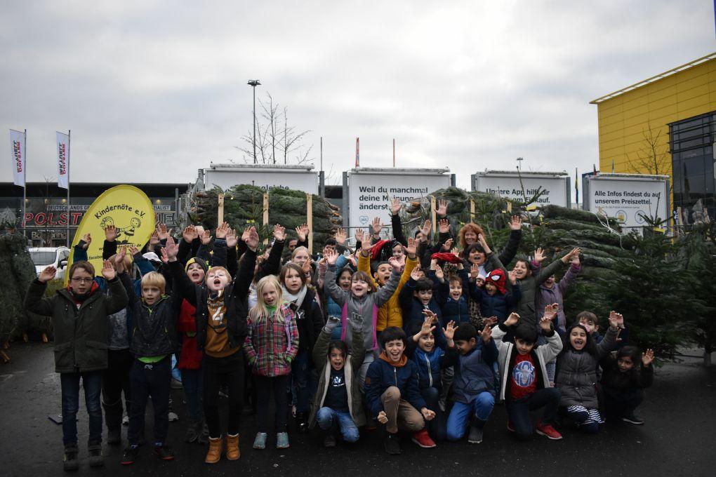 IKEA spendet 20.000 Euro dem Verein Kindernöte aus Chorweiler