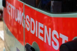 Motorradfahrer bei Verkehrsunfall schwer verletzt