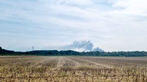 Unglück in der Sondermüllverbrennungsanlage der Firma Bayer in Leverkusen-Bürrig