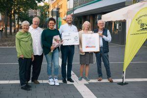 Auszeichnung für den Verein Kindernöte e.V. aus Chorweiler