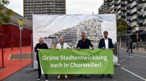 """Das Proekt """"Grünes Dorf"""" in Chorweiler geriet ins Stocken"""