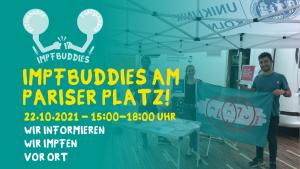 """Nächste Aktion des Projekts """"Impfbuddies"""" in Chorweiler"""